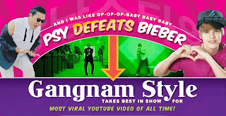 PSY Gangnam Style Beat Justin Bieber Baby a