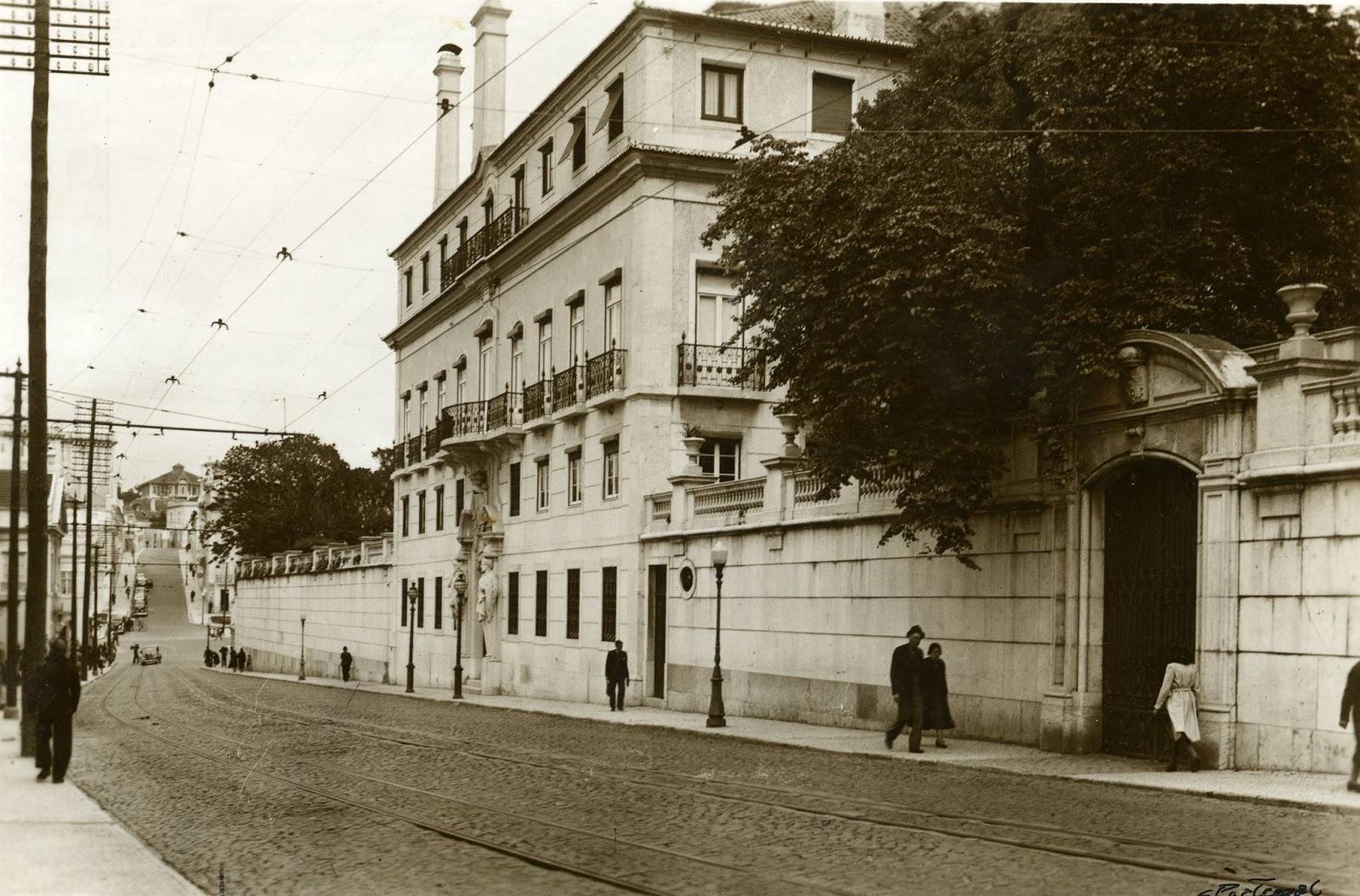 Ruas de lisboa com alguma hist ria rua da escola polit cnica x - Casa palacete 1822 ...