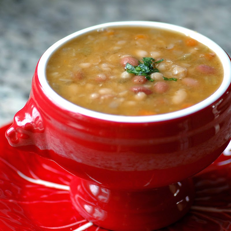 Got ham? Make this delicious Navy Bean Soup