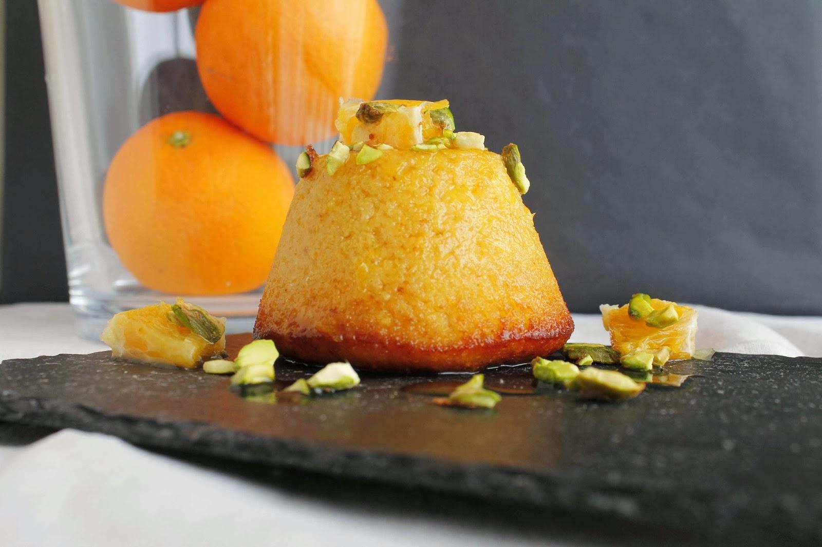 Receta Sicilian orange cakes