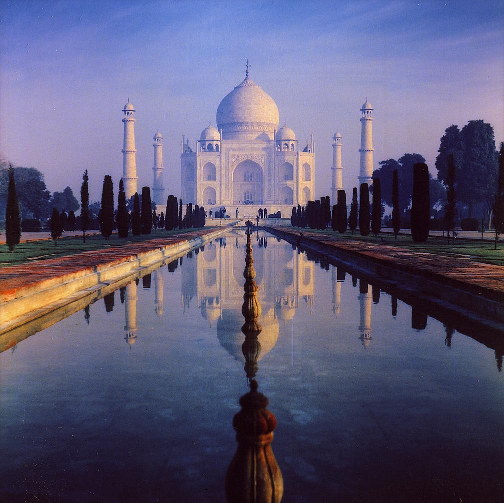 Seven Wonders Of The World Beautifull Taj Mahal Pics