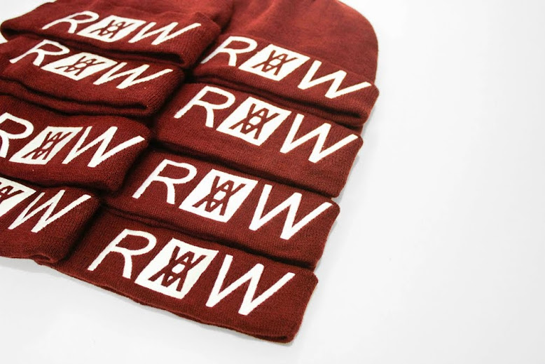 "NEW STOCK ""R.A.W & ALPHA BEANIE """