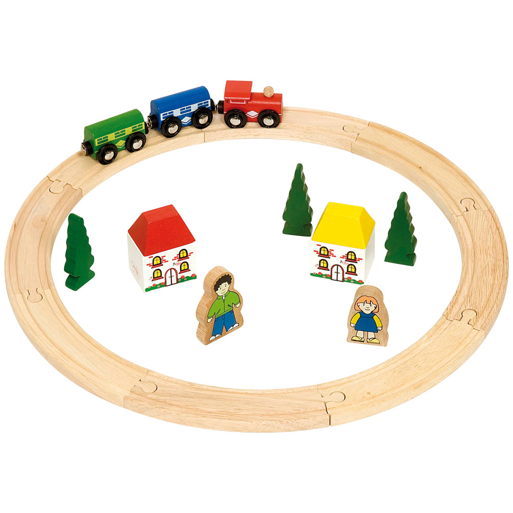 Wooden Toy Trains : Wooden railway outlet