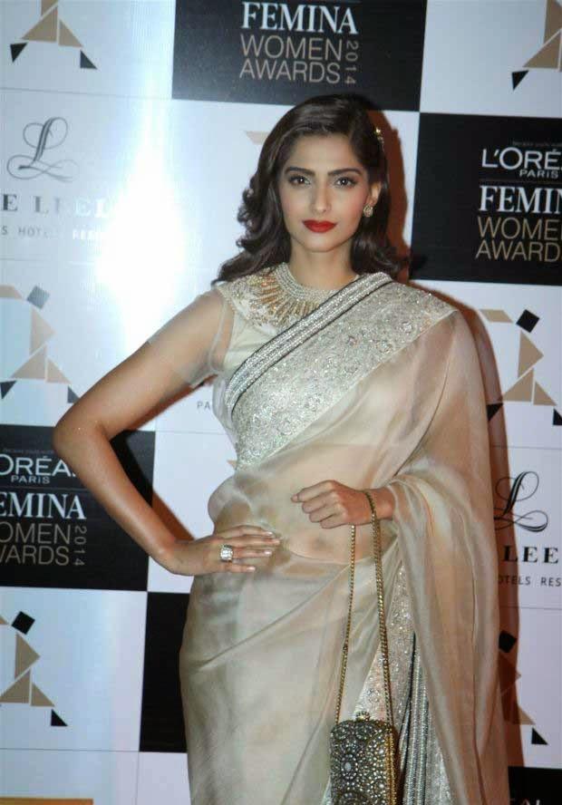 Sonam Kapoor at L'Oreal Paris Femina Women Awards 2014
