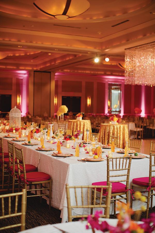 Rivernorthlove Citrus Wedding Reception
