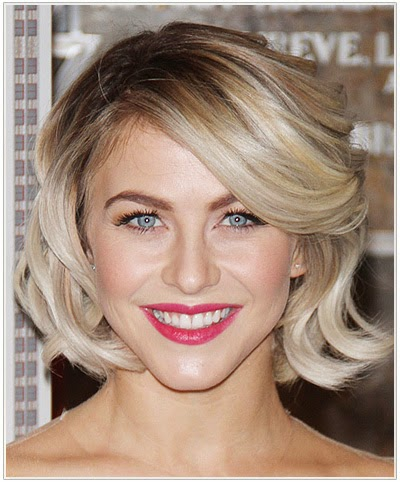 Julianne Hough vintage hairstyle