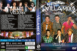 capa  Villa Mix 5 – DVDRip AVI + RMVB