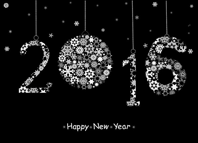 Stylish  HD New Year 2016 Beautiful Image Quotes