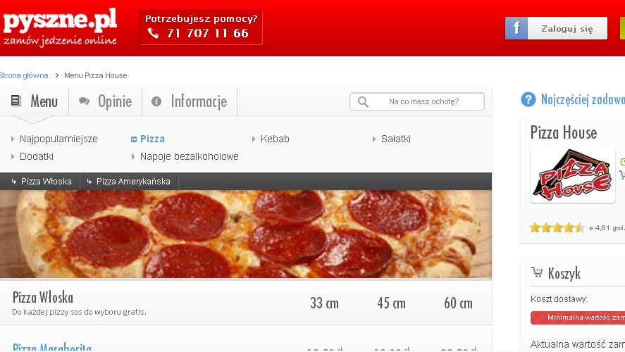 Testujemy Zamawianie Jedzenia Online Z Pizza House
