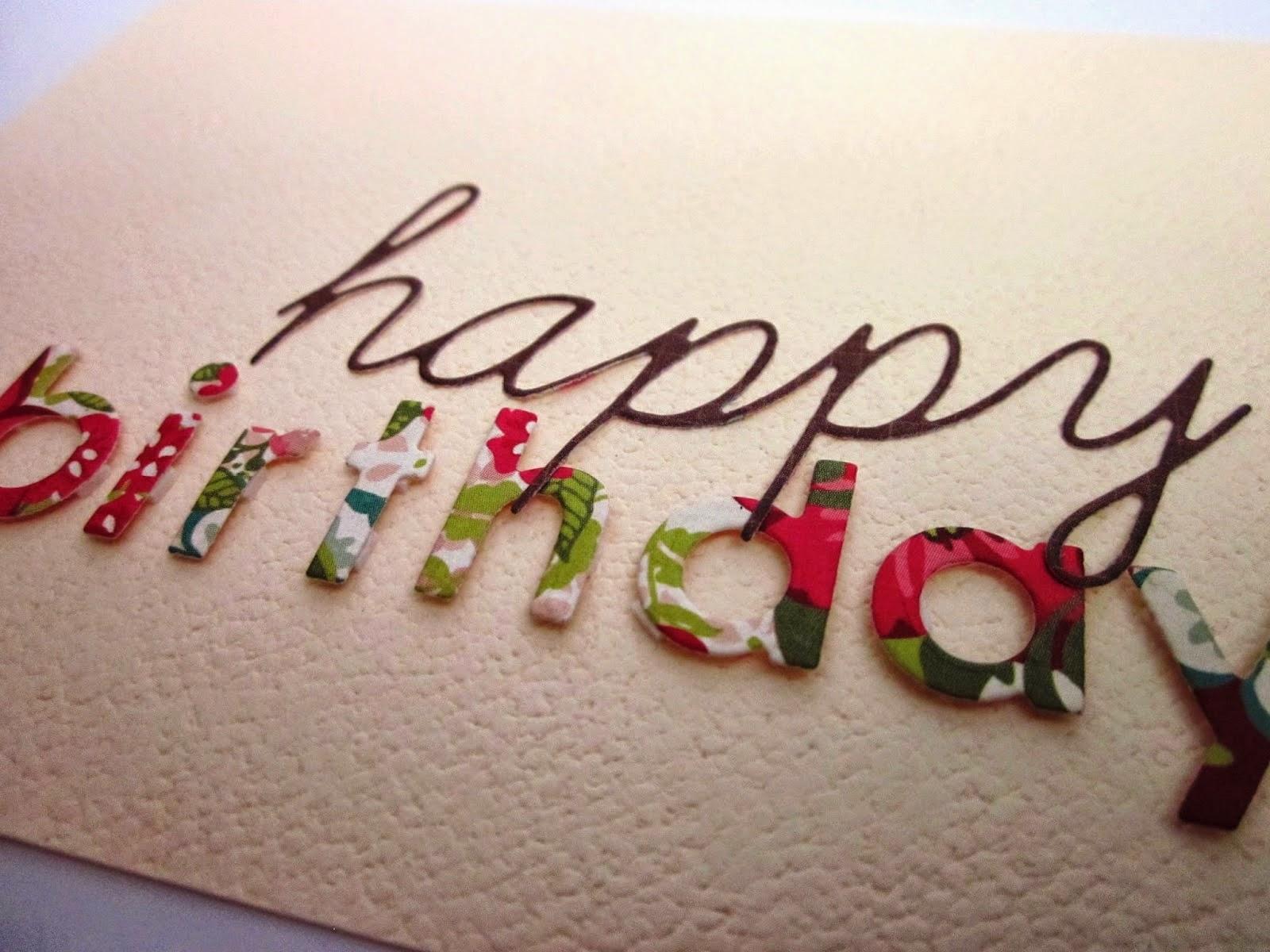 almanca doğum günü kartı / resmi