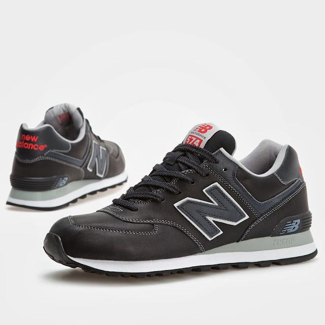 new balance zapatillas de piel
