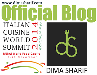 Official Blogger for Italian Cuisine World Summit
