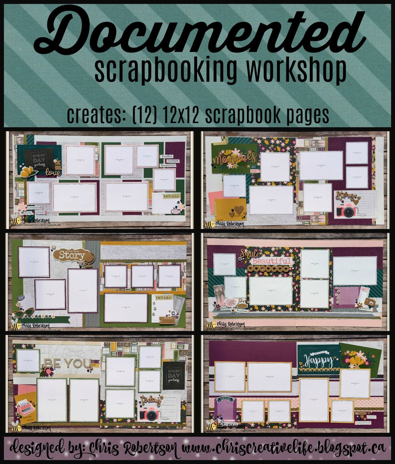 Documented Scrapbooking Workshop