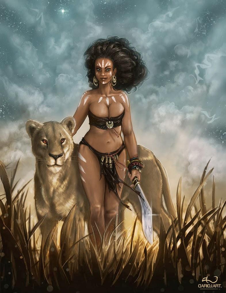 Bbw fantasy art