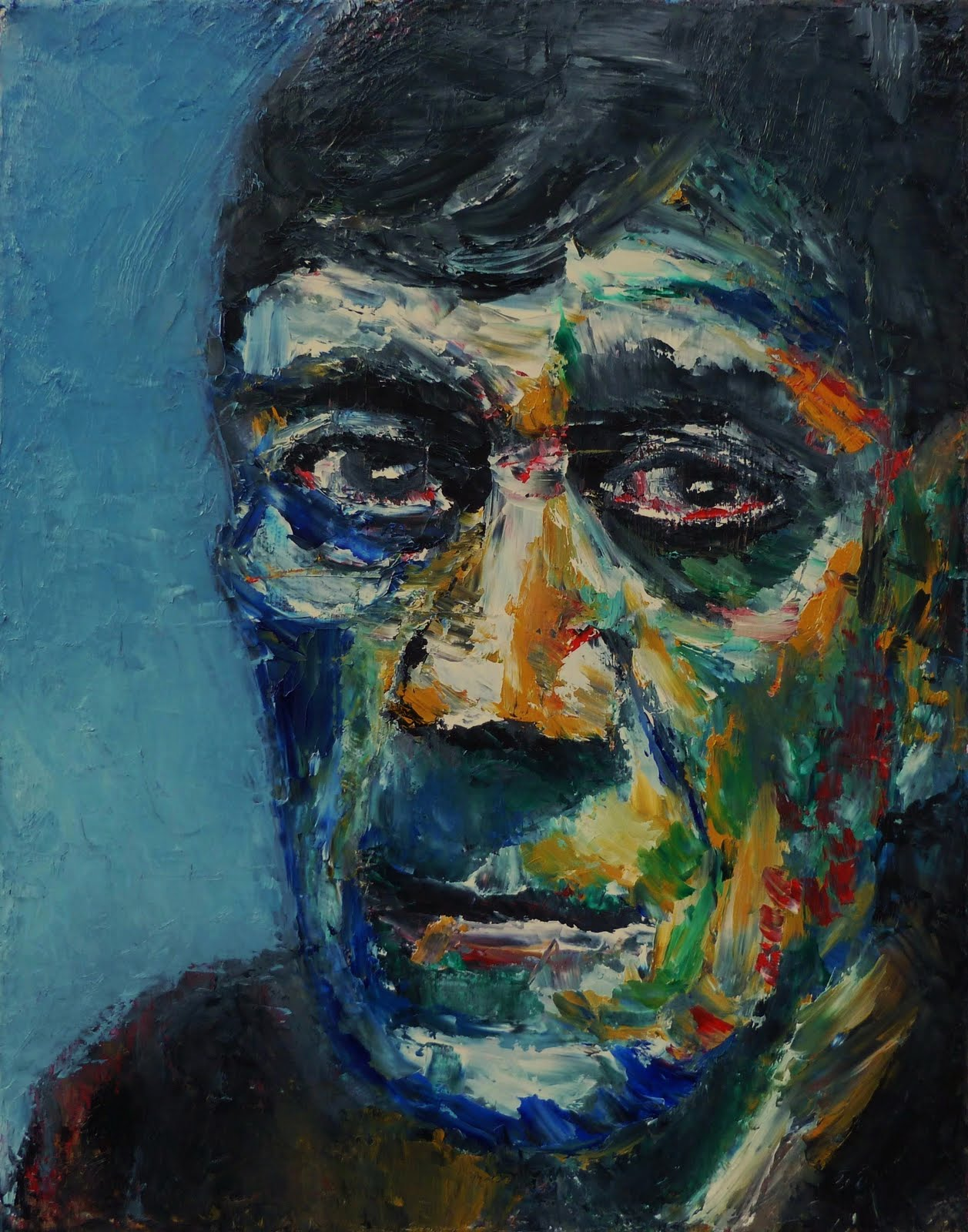 Portrait of Oskar Kokoschka