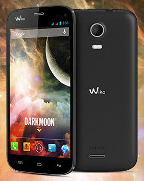 Wiko Darkmoon: HD screen, quad-core at low prices