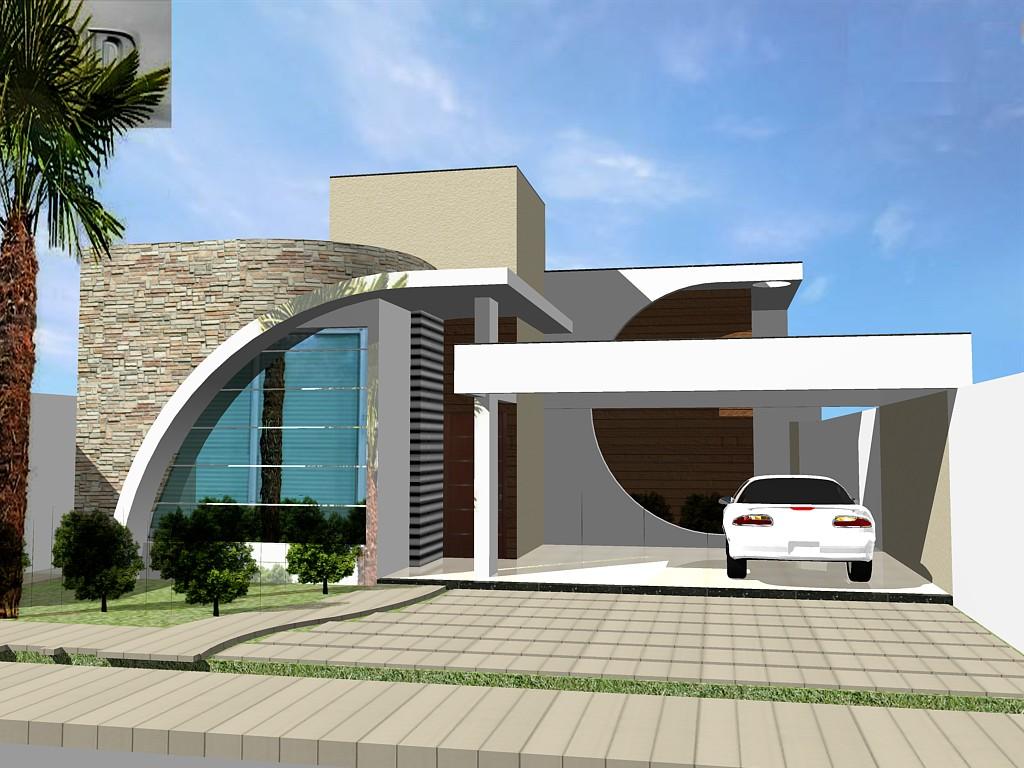 Fachadas de casas modernas 3d auto design tech for Fachadas de casas modernas