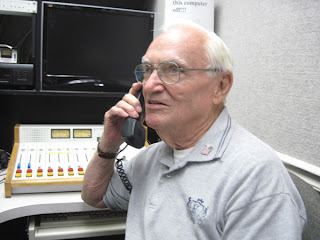 Grandpa Ed Scott answering the Country Gold request line