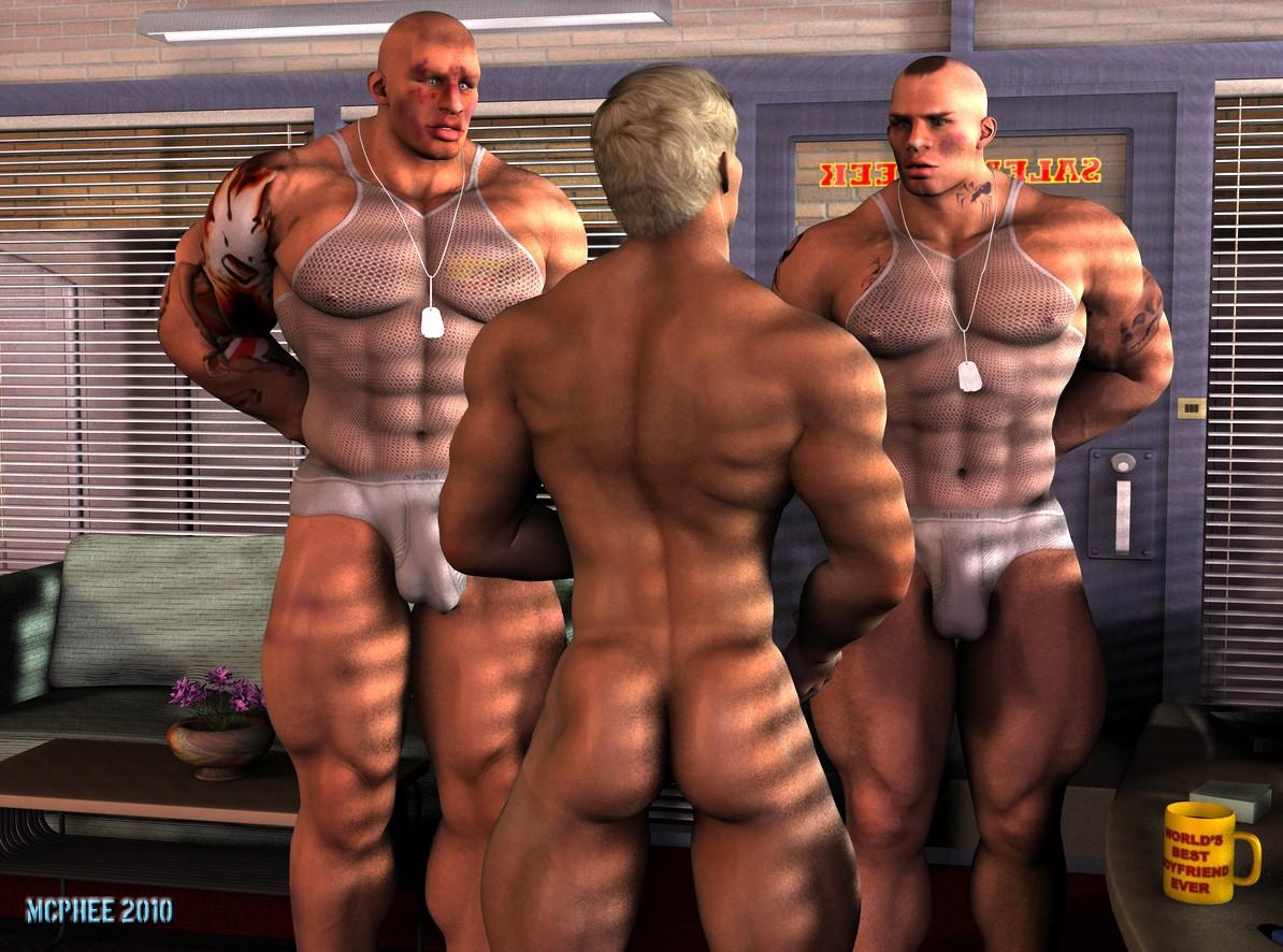 steed big dick gay man
