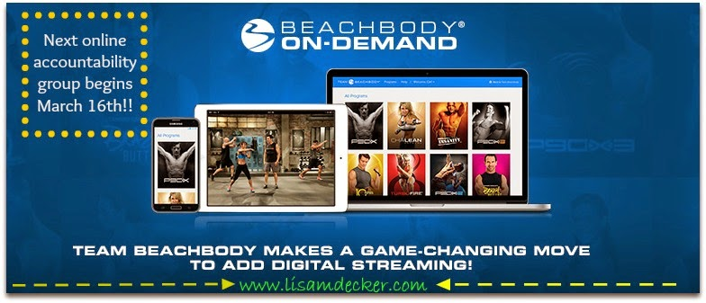 Beachbody on DEMAND!