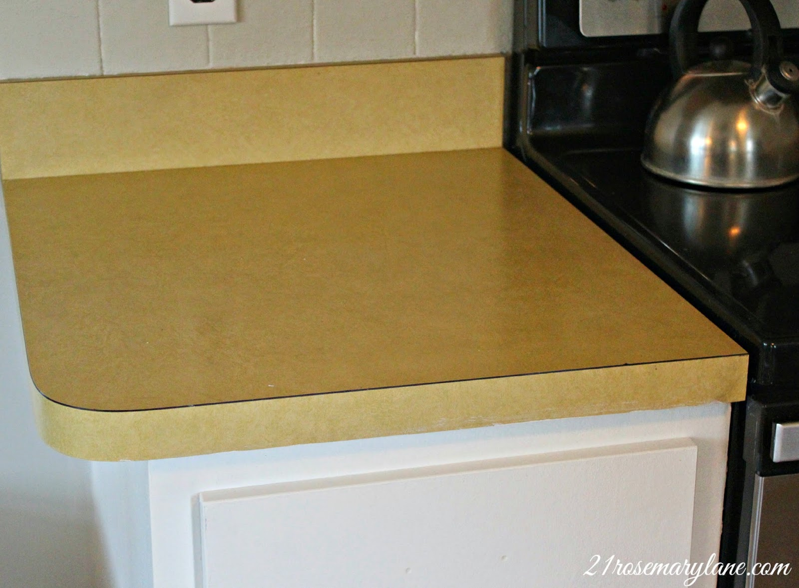 21 Rosemary Lane: Transformation of a 1970's Formica Countertop ...