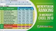 Menentukan Ranking Kelas di Microsoft Excel