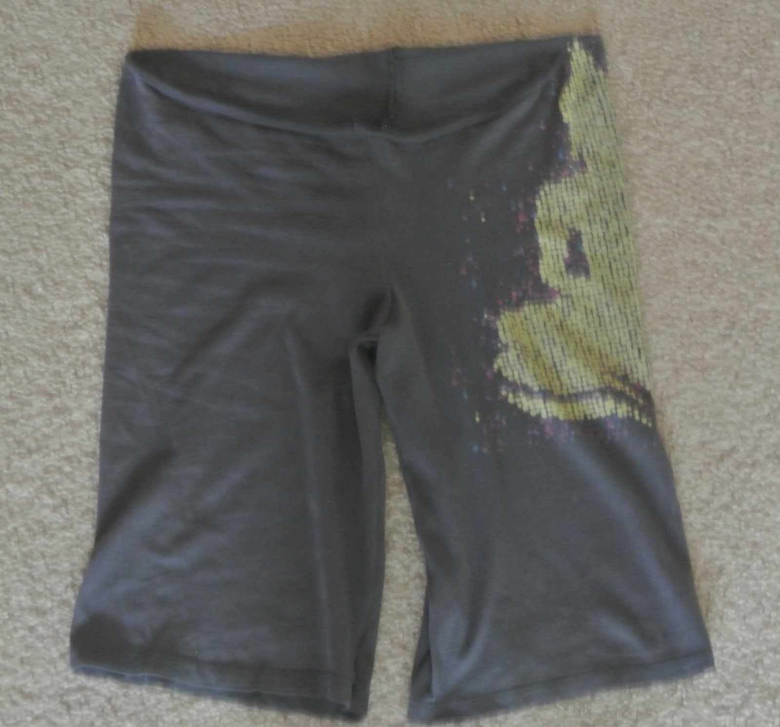 updated yoga pants from old tshirts tutorial tutorials