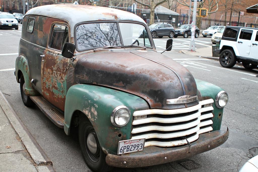 The Street Peep 1948 Chevrolet Panel Van