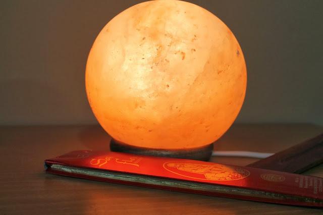 Lámpara de Sal en forma de Bola