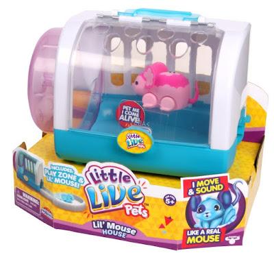 TOYS : JUGUETES -  Little Live Pets  Casa del Ratón | Lil' Mouse House  Producto Oficial 2015 | A partir de 5 años  Comprar en Amazon