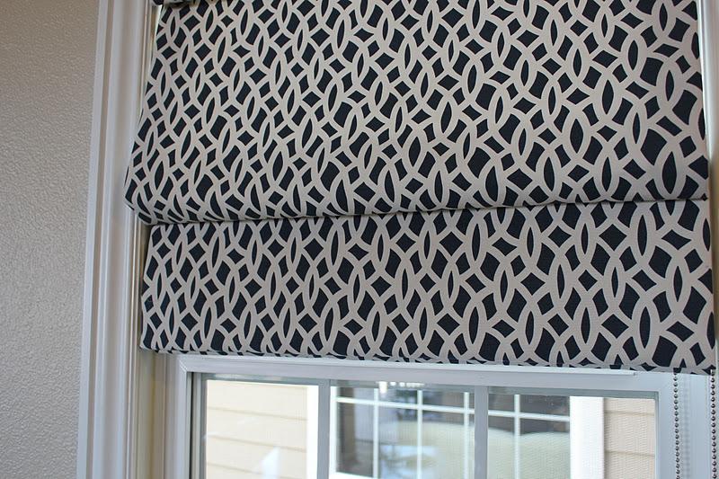 Bdg Style Custom Window Treatments Fabric Roman Shades