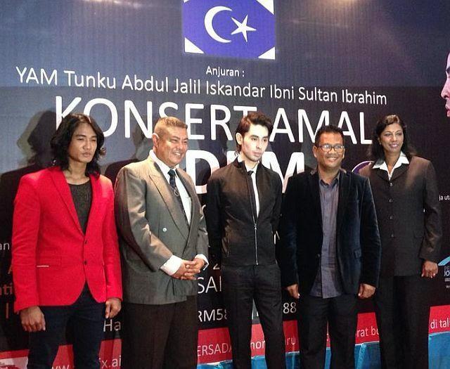 YAM Tunku Jalil Tampilkan Artis Popular Di Konsert Amal PDRM
