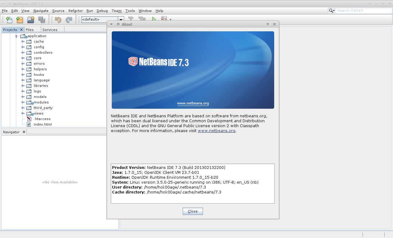 netbeans version 7