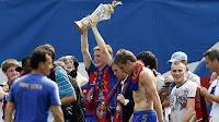 FÚTBOL-CSKA Moscú consigue la liga 2013