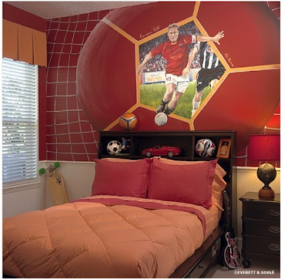Teen Boys Sports Theme Bedrooms | Residence Furniture Ideas