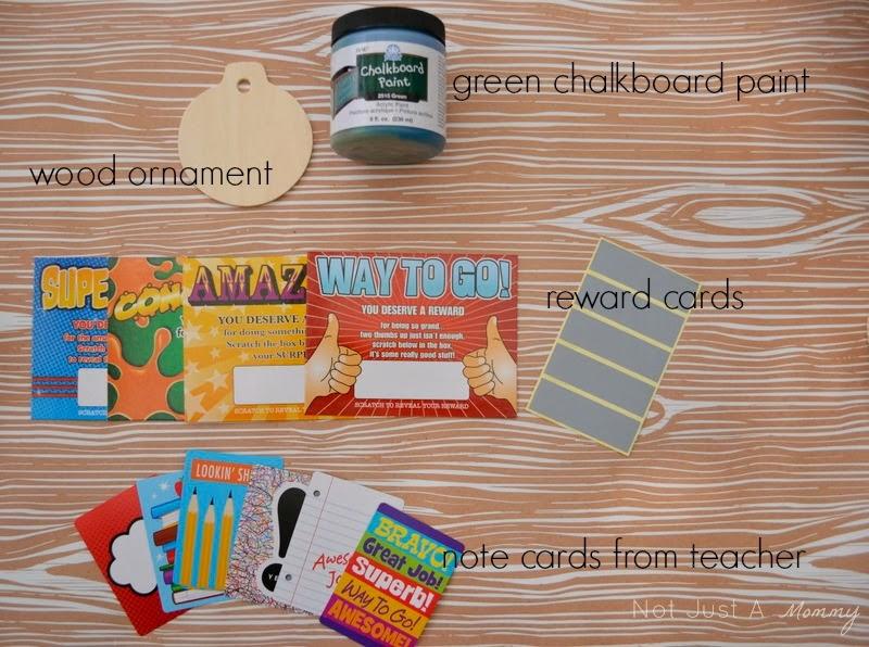 teacher Christmas gift idea with Oriental Trading
