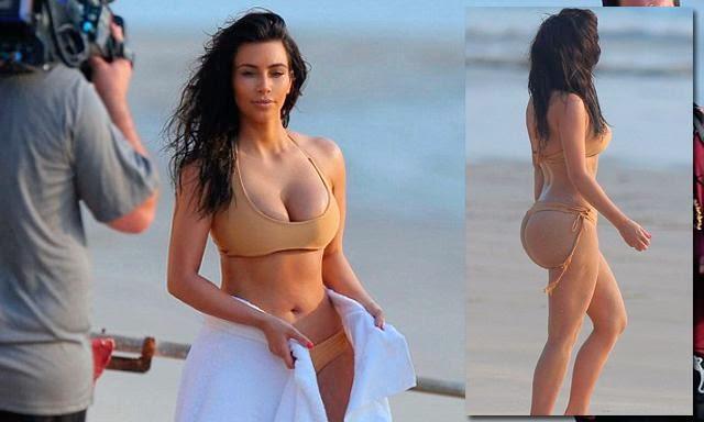 Kim kardashian fesses avant et après