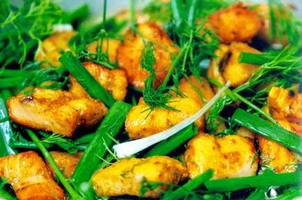 Fried Fish La Vong (Cha Ca La Vong)3