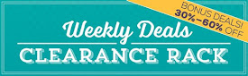 Weekly Deals Clearance Rack!