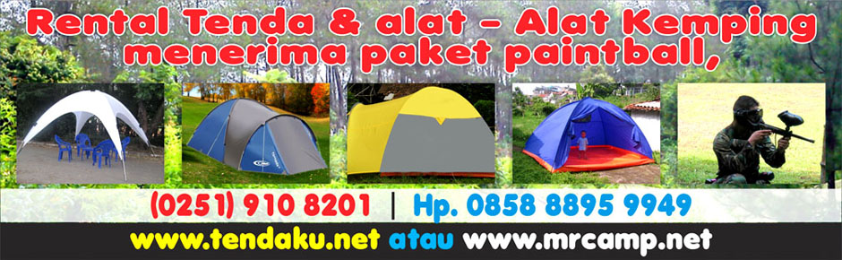 blog tendaku, rental tenda & alat kemping, outbound, & paintball