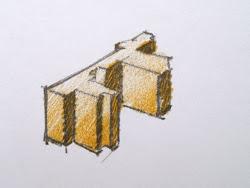 klein bouwkundig tekeningetje