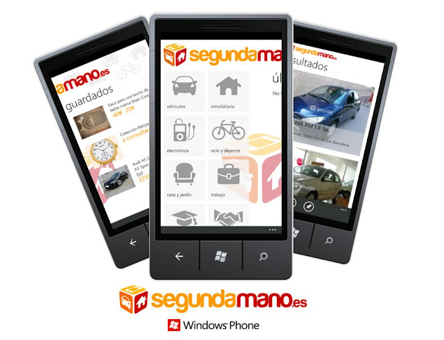 segundamano.es app windows phone