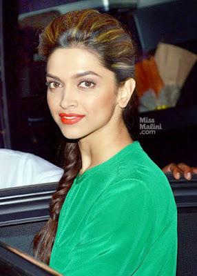 Deepika padukone hair style