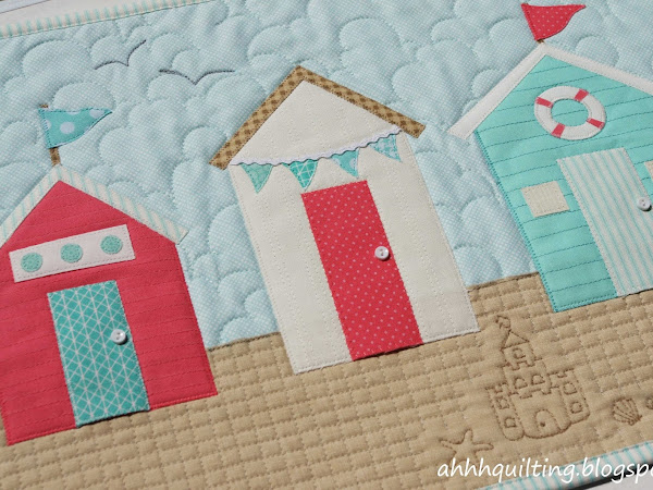 Beach Huts Wall Hanging