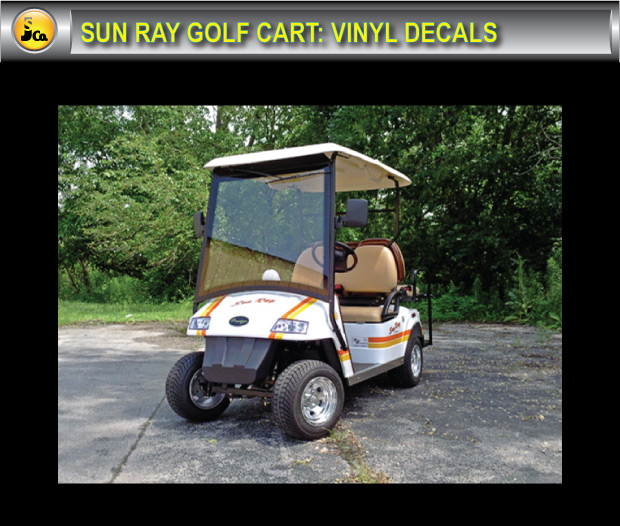 Sun Ray Golf Cart