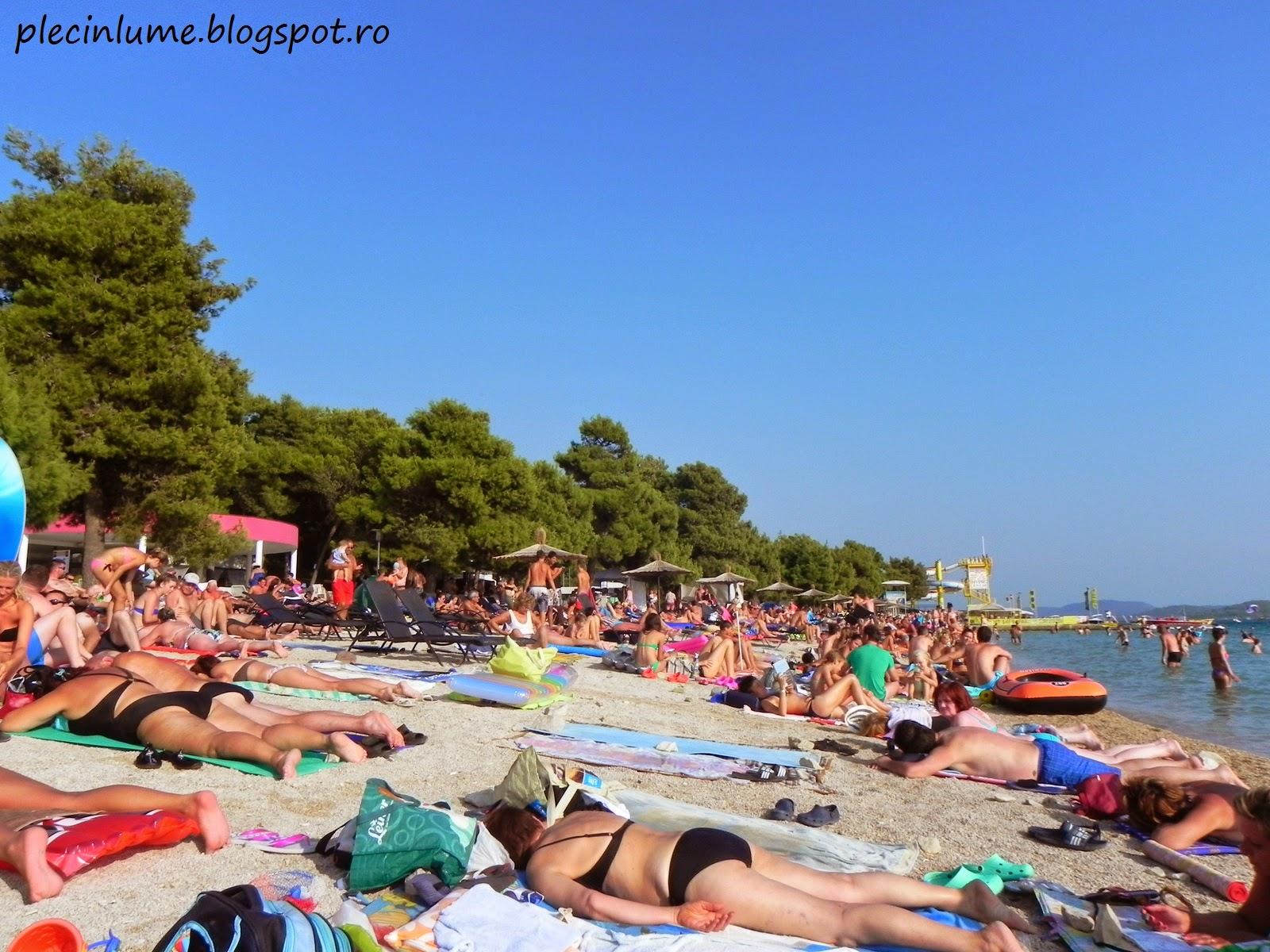 Plaja din Vodice, Croatia
