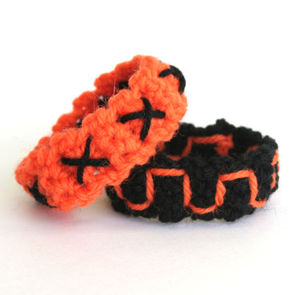 and napkin ring - Free Halloween Knitting Patterns