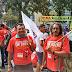 Docentes da UFPI completam um mês de greve com ato público na reitoria