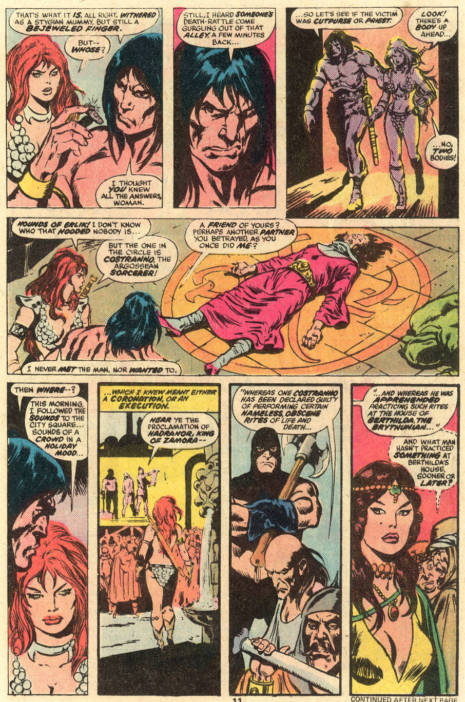 Conan the Barbarian (1970) Issue #78 #90 - English 8