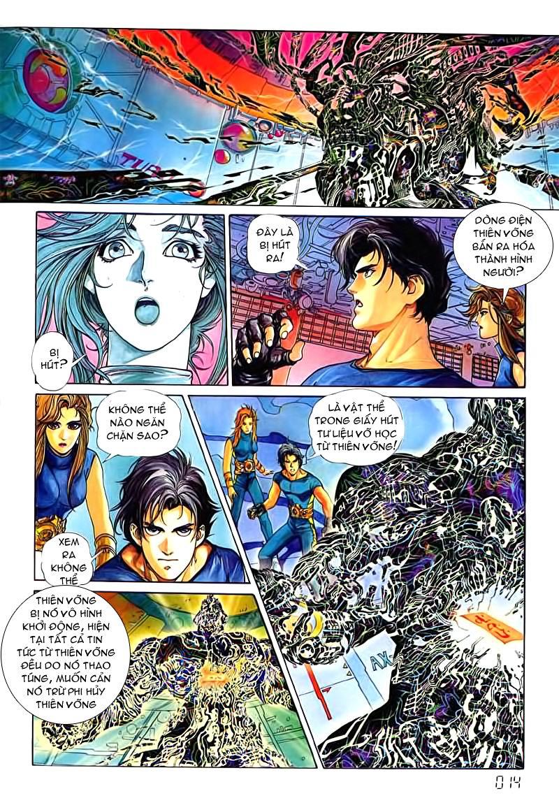 Cyber Weapon Z - Siêu Thần Z chap 3 - Trang 8
